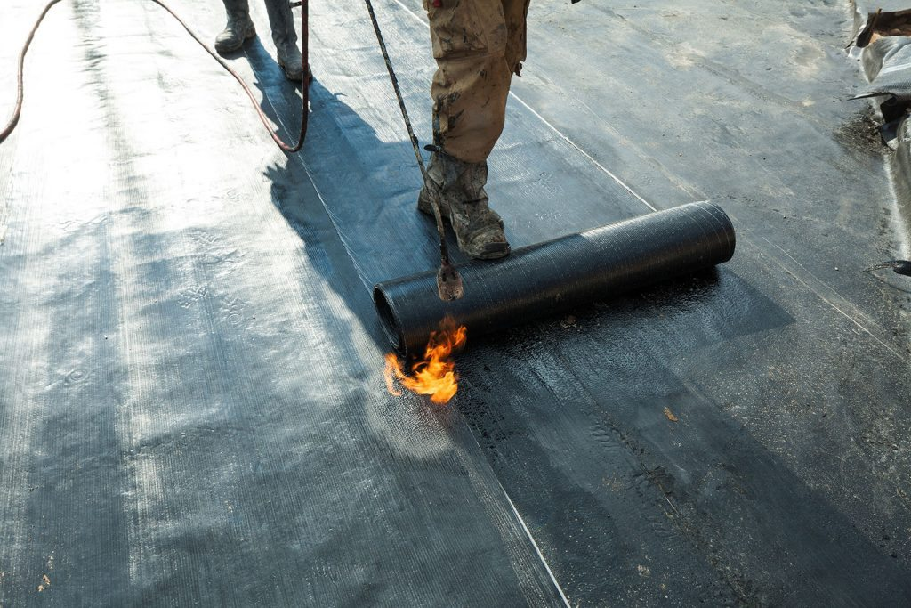 Metal Roofing Asphalt Roofing Torch On Chilliwack